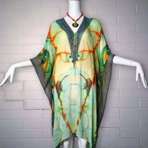 Buy mint kaftan online, shop kaftan online in australia, Prettyporter Australia Best designer kaftan shop