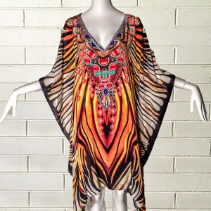 PRINTED TIGER STYLE - Front - PrettyPorter