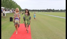 Sydney Polo Gold Cup Kaftans provided by Pretty Porter Australia